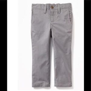 LIKE NEW Old Navy Boy's Khaki Gray Pants sz 18-24m